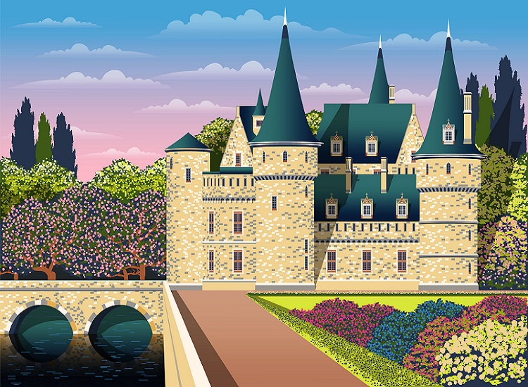 If you've seen one chateau you haven't seen them all