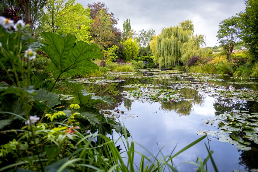 Monet's Gardens and House at Giverny, Normandy, France