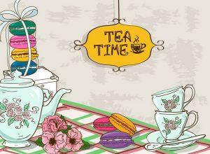 Chateau de Sauge Vintage Tea Room