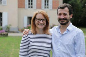 Tim and Rebecca Chateau de la Ruche