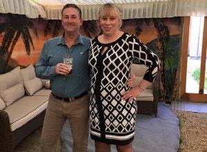 Hosts Karen & Wayne Blanshard