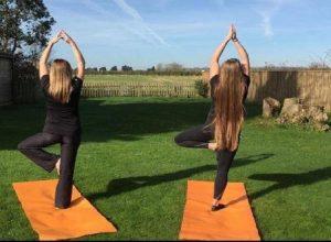 Yoga with Sarah Chateau de Vaudezert