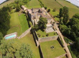 Chateau Lagorce Aerial View