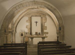 Abbaye de la Bussiere crypt