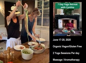 Cynthia McCabe Yoga Retreat at Chateau de la Rongere