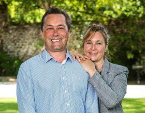 Clive and Tanith Abbaye de la Bussiere