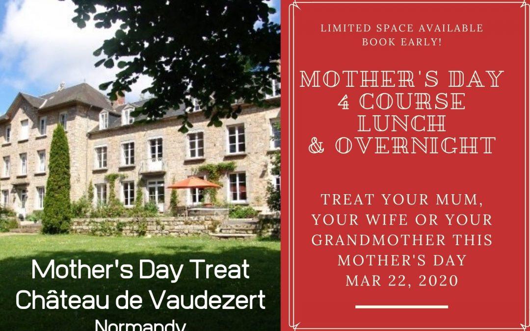 A Mother's Day Treat at Château de Vaudezert!