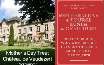 A Mother's Day Treat at Château de Vaudezert!
