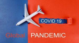 Global pandemic with coronavirus COVID-19