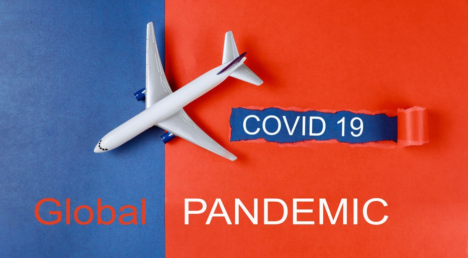 Global pandemic with coronavirus COVID-19