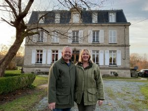Nigel and Debs Chateau Gioux