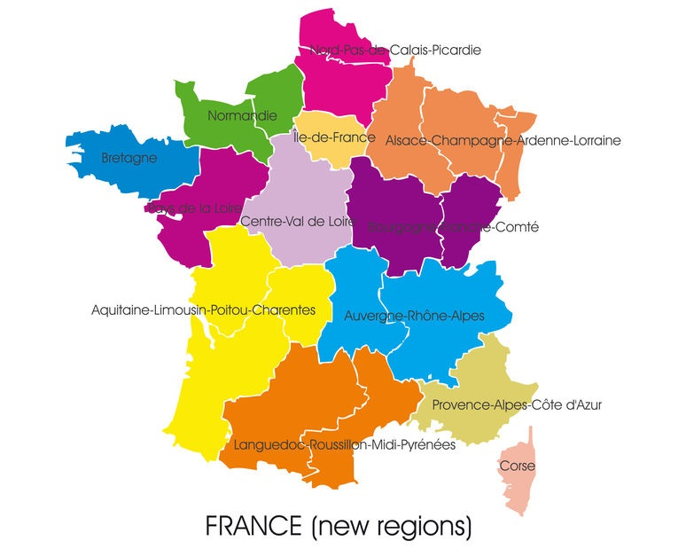 France Gets Its New Map