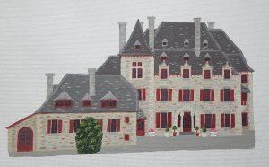 Chateau du Doux Courtesy of Artist Sheila Roper
