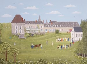 Chateau de Lalande Courtesy of Artist Sheila Roper
