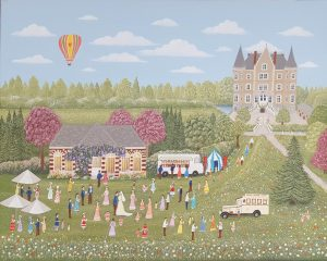 Chateau de la Motte Husson courtesy of Sheila Roper artist