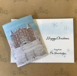 Chateau de la Motte Husson Christmas Card
