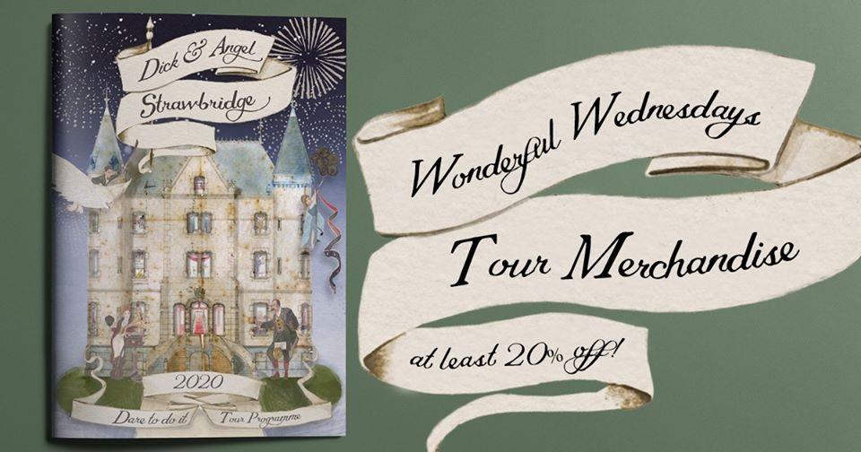 """Wonderful Wednesday"" Offers from Dick & Angel Strawbridge"