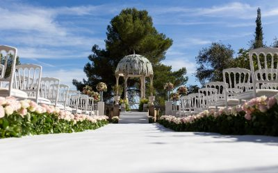 """""""The Temple of Love"""" at Chateau Saint Georges"""