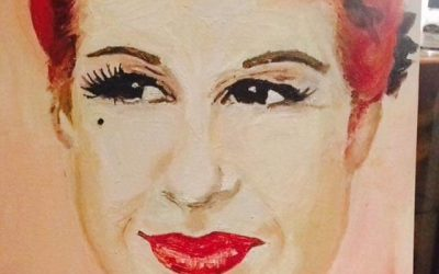 Novice Artist Paints Angel Strawbridge
