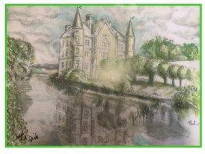 Paul's Chateau Print