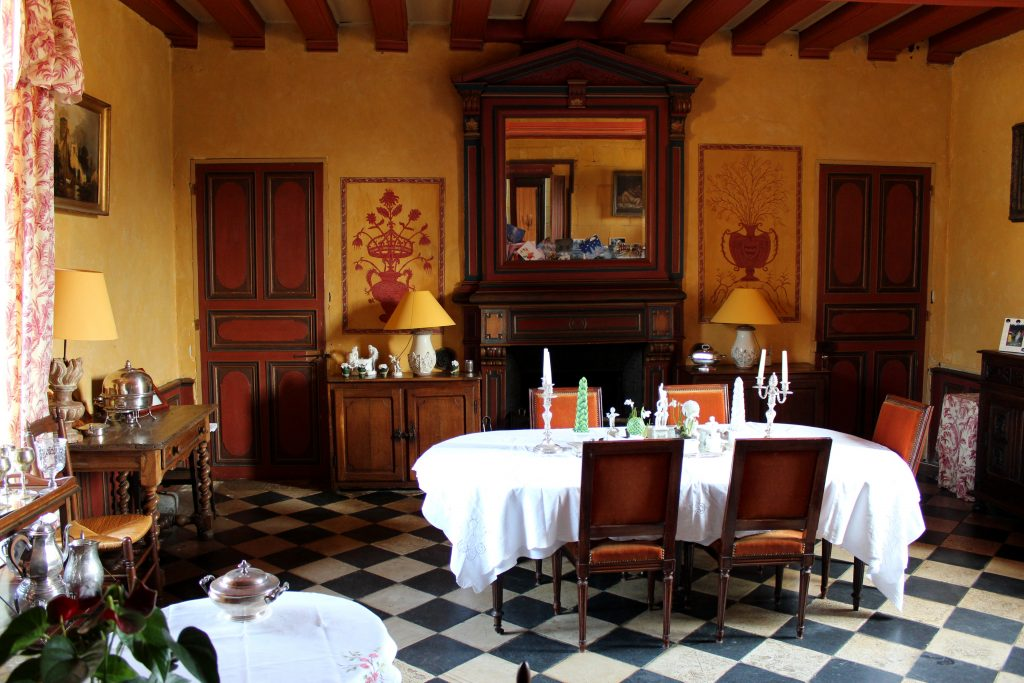 Chateau de Chambiers Dining Room